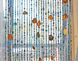 beaded curtains etsy