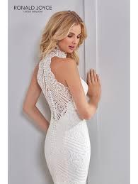 fishtail wedding dress ronald joyce 69307 soft lace fishtail wedding dress ivory