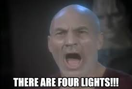 four lights how many lights are there
