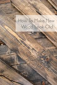 how to distress wood video u0026 photos woods wood stain and