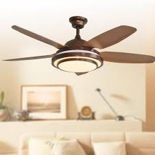 decorative ceiling fans with lights buy retro decorative ceiling led ceiling fan w lights remote
