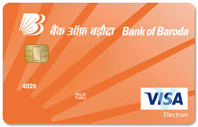 debt cards bank of baroda visa electron debit card review capitalvidya