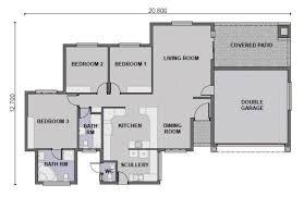 Modern Three Bedroom House Plans - modern 3 bedroom house plans in south africa memsaheb net