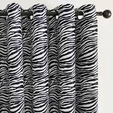 chambre zebre et topfinel noir et blanc zèbre rideau pour salon chambre à coucher