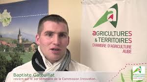 chambre d agriculture aube baptiste gatouillat séminaire innovation du 4 12 13