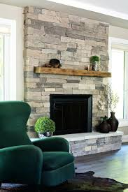 fireplace designs with stacked stone modern wall living room brick