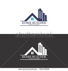 home builder logo design home builder logo vector stock vector 788438890 shutterstock