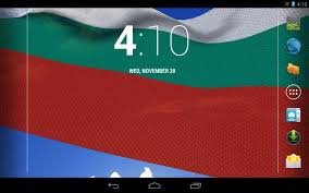 Bulgarian Flag Wallpaper 3d Bulgaria Flag Lwp Android Apps On Google Play
