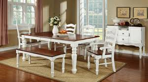 raymond white cherry country dining table set country dinner table