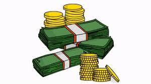 stacks of money sketch illustration hand drawn animation