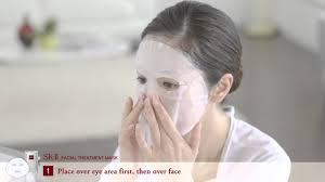 Sk Ii Mask sk ii treatment mask how to use sephora