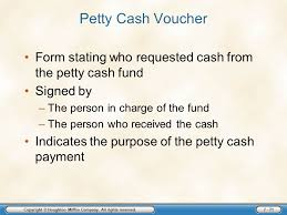chapter seven bank accounts and cash funds copyright houghton
