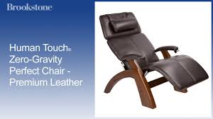 Tony Little Massage Chair Human Touch Zero Gravity Perfect Chair Premium Leather Youtube