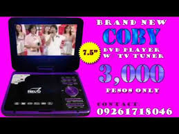 black friday portable dvd player coby dvd player with tv tuner youtube