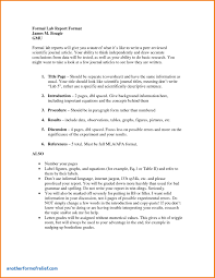 formal lab report template technical report cover page template awesome 7 formal lab report