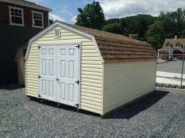12x14 vinyl mini barn storage shed for sale