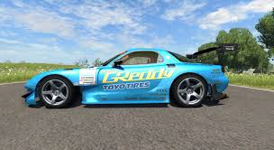 mazda rx 7 rx 7 drift greddy for beamng drive