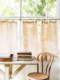Cafe Curtains Australia Linen Cafe Curtains Houzz