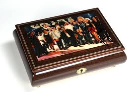 Unique Music Box Juliens Auction 2009 Lot 334 Of 361 Michael Jackson Signed Music