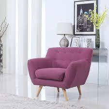 Mid Century Modern Living Room Chairs Purple Accent Chair Purple Accent Chair Living Room Midcentury