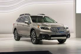 white subaru outback 2015 subaru outback promises to be the roomiest most capable ever