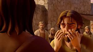 Was Bartimaeus Born Blind Superbook Video Clip Jesus Heals Blind Bartimaeus Watch Online