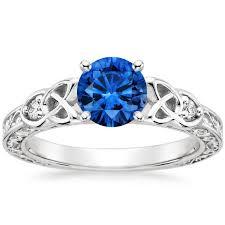 blue gemstones rings images Sapphire aberdeen diamond ring in 18k white gold jpg