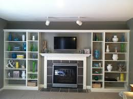 Living Room Shelves by Living Room Livingroom And Library Decorating Living Room Built