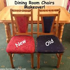 how to reupholster a dining room chair seat and back dining chair