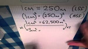 Map Scales Y10 Igcse Map Scales Ex20 Q6 Youtube