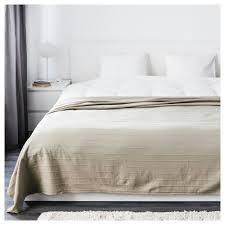 Cotton Quilted Bedspread Bedspreads Ikea