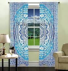 Moroccan Style Curtains Moroccan Print Curtains 100 Images Blue Shower Curtains