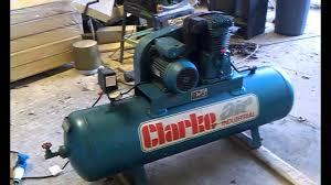 clarke compressor youtube