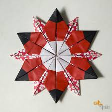diagrams 12 pointed star u0026 square squared origamiusa holidays