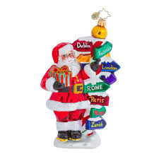 christopher radko ornaments 2015 radko travel ornament