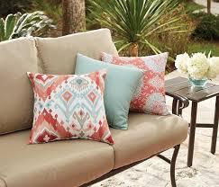home decorators outdoor pillows allen roth multicolor uv protected square outdoor decorative
