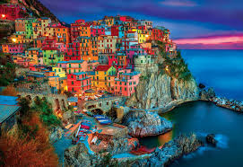 halloween jigsaw puzzles for adults amazon com buffalo games cinque terre 2000 piece jigsaw