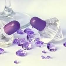 bulles de savon mariage boîte à bulles de savon mariage diamant pourpre lot de 12 un