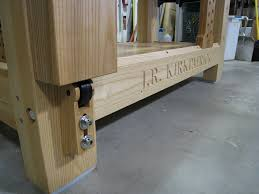 Fine Woodworking Bench Bench Bench Crafted My Benchcrafted Roubo Workbench Build Leg