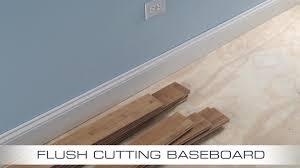 flush baseboard dremel us40 ultra saw