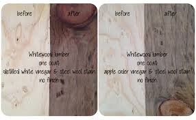 is it safe to use vinegar on wood cabinets diy decorating staining wood with vinegar dengarden