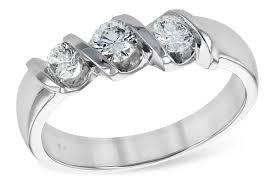 ribbon ring river jewelers 3 diamond ribbon ring