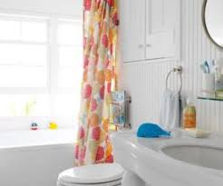 Curtains Bathroom Your Bathroom Look Larger With Shower Curtain Ideas