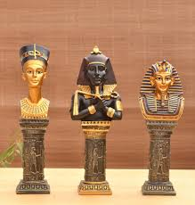 resin crafts ornaments european statues pharaoh living room