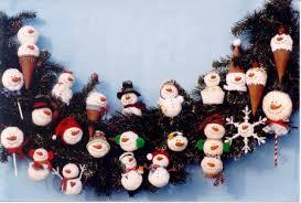 ornaments made out of styrofoam balls rainforest