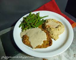oven chicken fried steak with cream gravy and all the fixin u0027s is