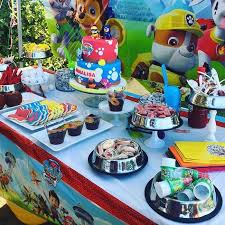 paw patrol kids table set i set up this candy table for a party this weekend paw patrol