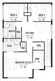 narrow lot 2 storey house plans u0026 designs perth vision one homes