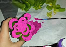 celery flower stamping craft for kids crafty morning
