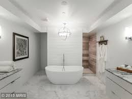 Modern Master Bathroom by Modern Master Bathroom With Flush U0026 Freestanding Bathtub Zillow